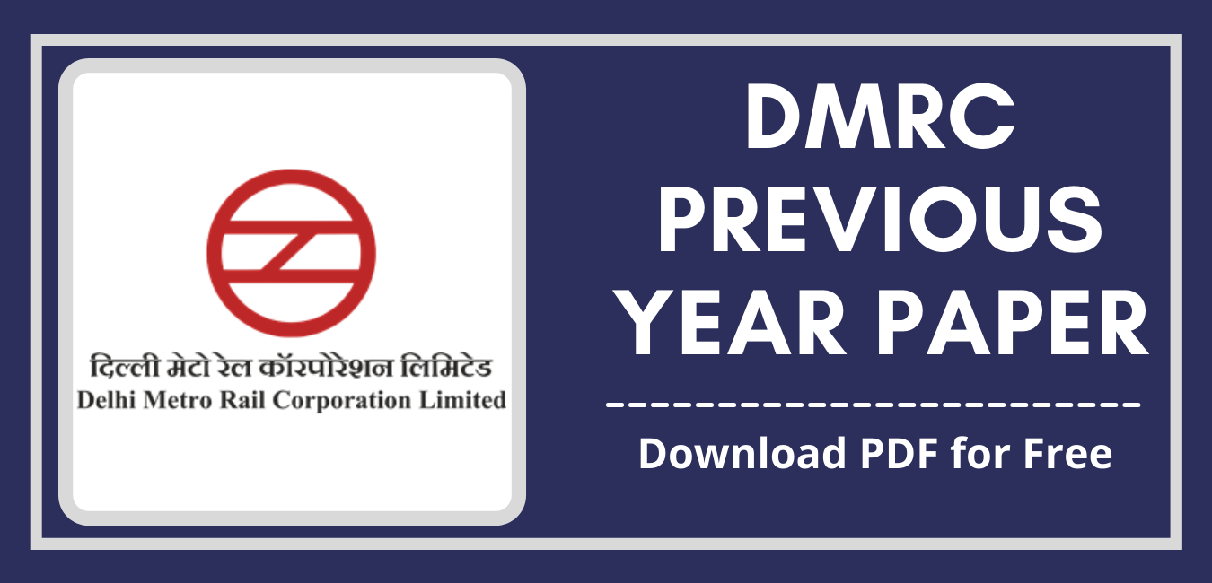 DMRC Previous Year Paper