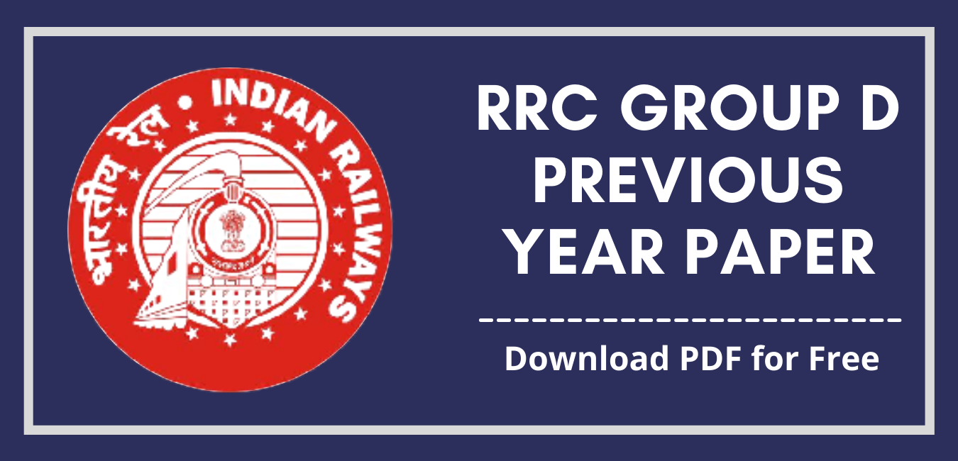 RRC Group D Previous Year Paper